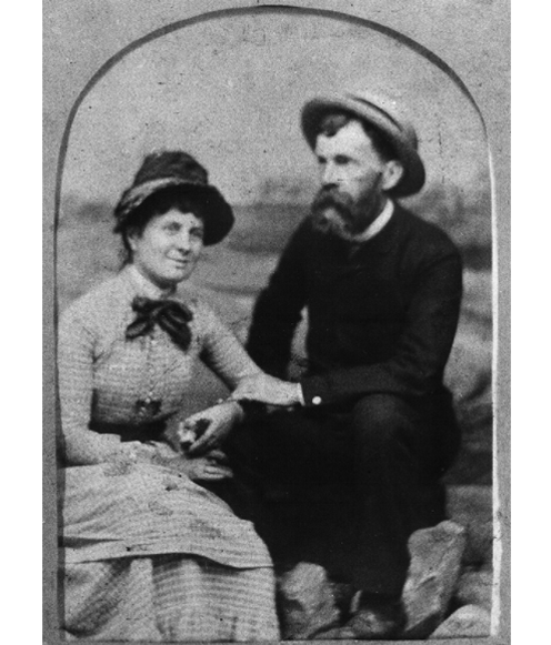 Charles Phelps Taft and Anna Sinton Taft, about 1880; after an original photograph in the collection of the William Howard Taft National Historic Site (United States National Park Service)